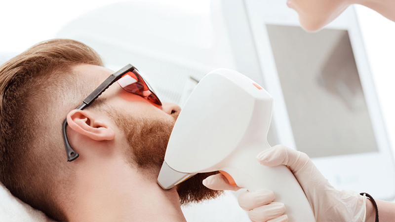 Laser Beard Lining for Men - Skin and Teeth Medical Center - Ajman - UAE