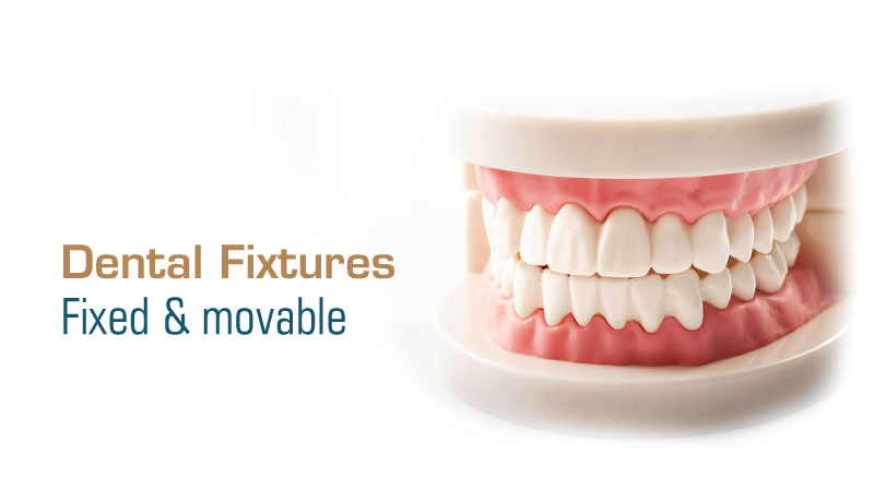 Fixed and movable dental fixtures - Skin and Teeth Medical Center - Ajman - UAE